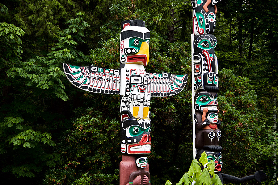 Vancouver. Totem Pole. 2012
