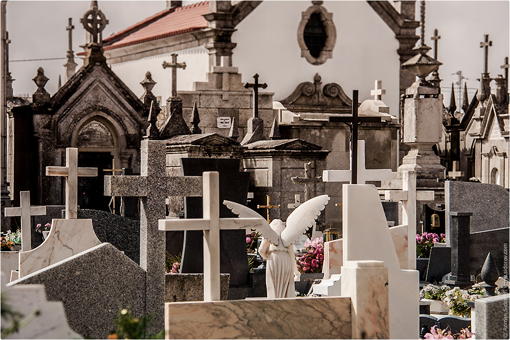 Кладбище. Поргугалия. (Cemetry. Portugal.)