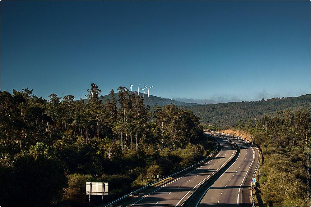 Дорога на Сантьяго-де-Компостела