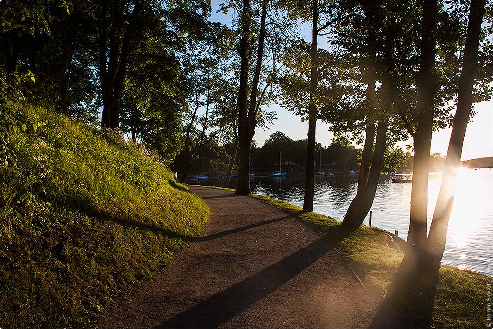 Тракайское озеро, Литва