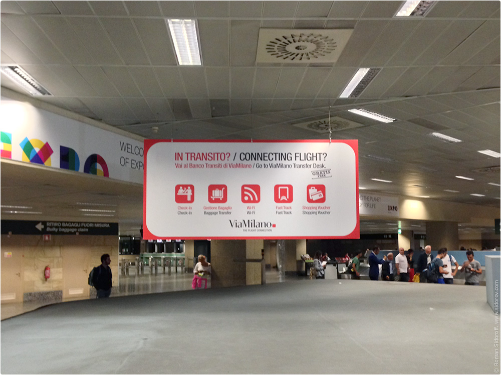 Airport Milano Malanpesa. Via Milano The Flight Connection