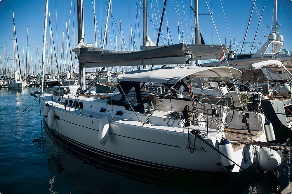Croatia Yachting 2014. Hansa 43e