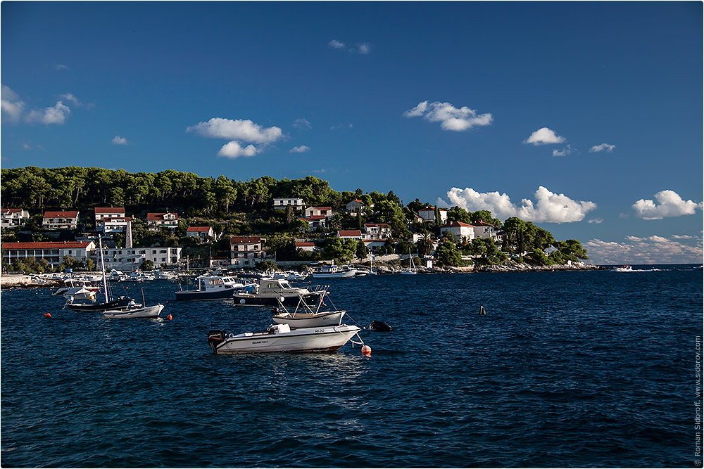 Croatia Yachting 2014. City view.