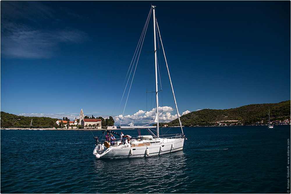 Croatia Yachting 2014. Beautiful yacht.