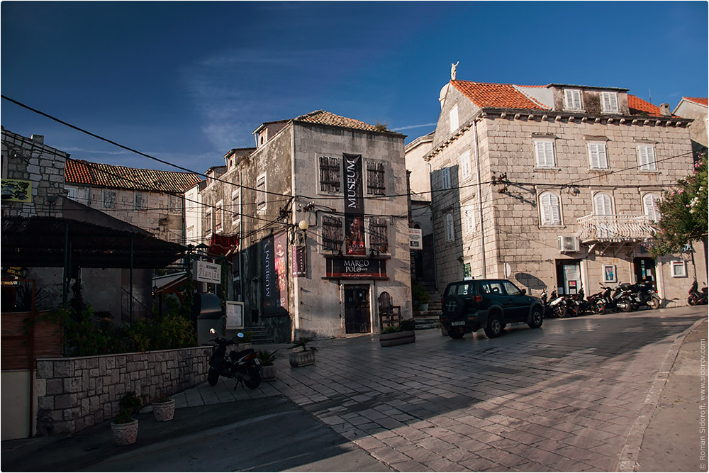 Croatia Yachting 2014. Old city on the island.