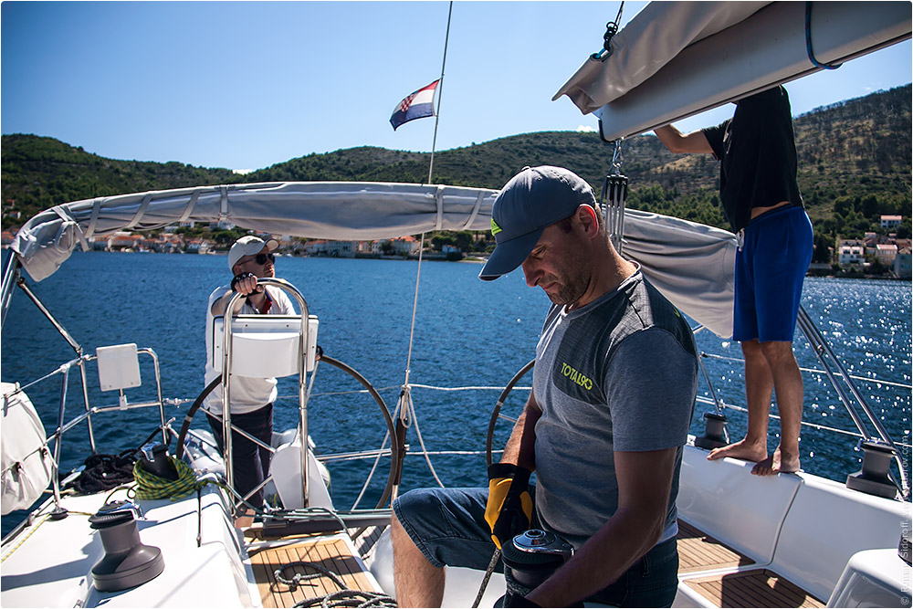 Croatia Yachting 2014. Crew