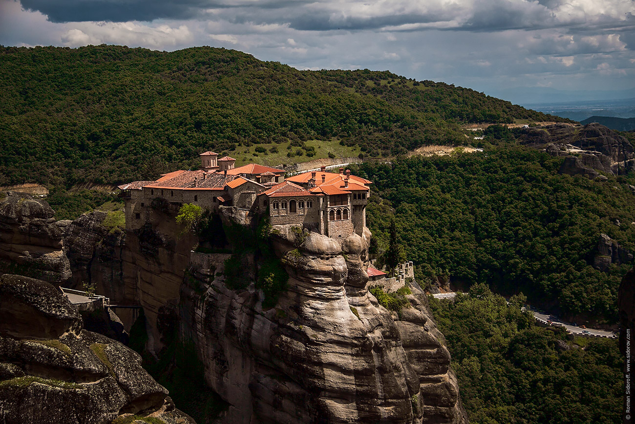 Greece. A Way to Meteora. 2014