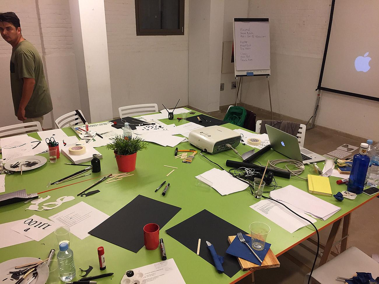 Рабочий стол дизайнеров