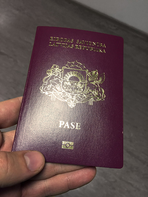 Как быстро делают паспорт в Латвии?